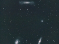 Comet 67P passing by the Leo Triplet