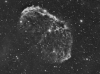 Crescent Nebula in Cygnus