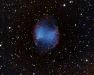 The Dumbell Nebula in Vulpecula