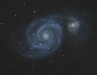 M51 - The Whirlpool Galaxy.
