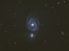 Type II Supernova in M51. 3rd June 2011