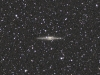 Edge on galaxy NGC891.
