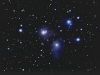The Pleiades Star Cluster with Nebulosity