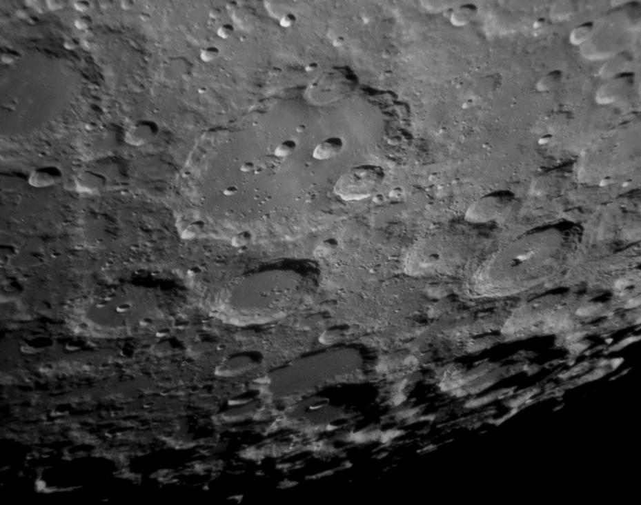 The area around Clavius