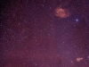 Emission nebulae in Northern Orion.