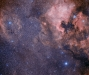 The Area Around The North American Nebula