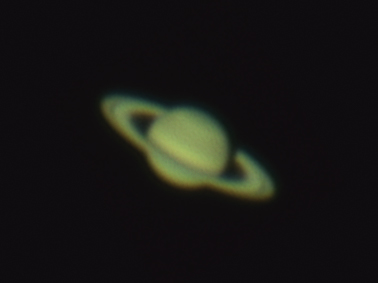 Saturn - Webcam Image - 4th Faruary 2012