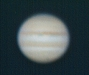 Jupiter and Impact spot (just)